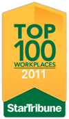 Star Tribune Top 100 Workplaces 2011 award