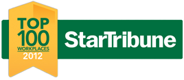 Star Tribune Top 100 Workplaces 2012 award