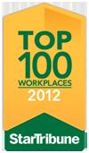 Star Tribune Top 100 Workplaces 2012 award