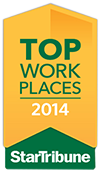 Star Tribune Top 100 Workplaces 2014 award
