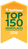 Star Tribune Top Workplaces 2016 award