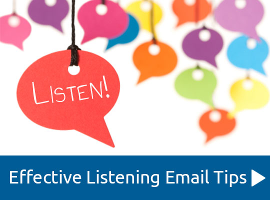 Effective Listening Email Tips