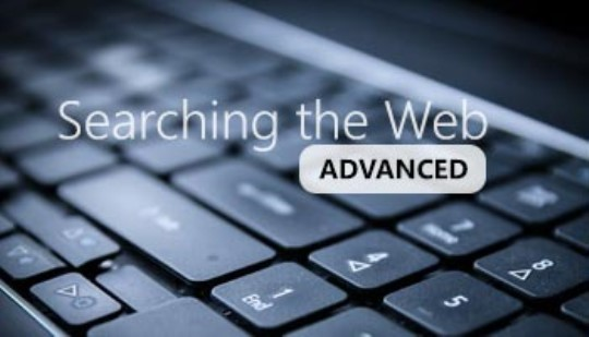 Searching the Web - Advanced