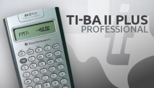 TI BA II PLUS™ PROFESSIONAL