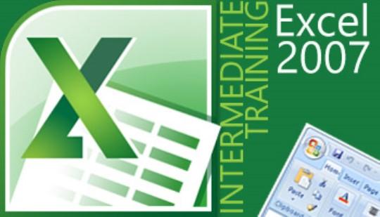 Excel 2007 - Intermediate Training