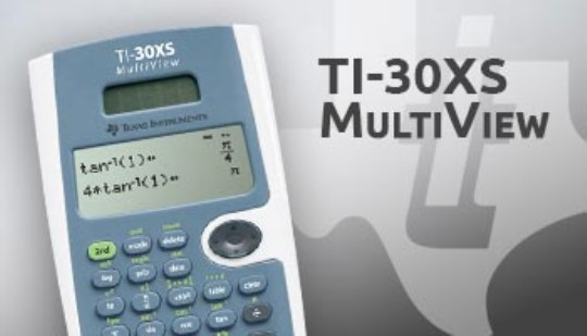TI-30XS MultiView™