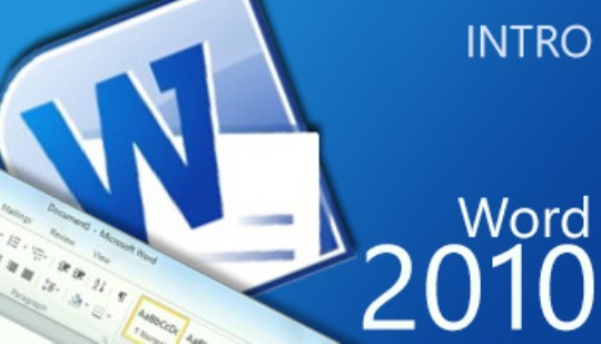 Word 2010 - Intro Training