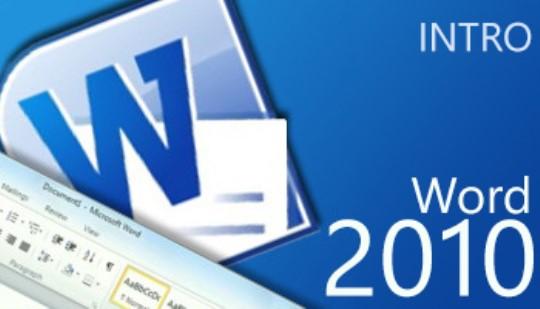 Word 2010 - Intro Training