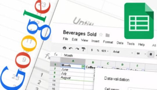 Google Sheets - Chart & Formula Training