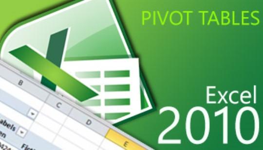 Excel 2010 - Pivot Tables Training