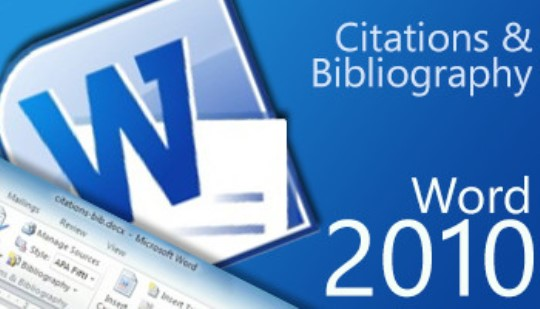 Word 2010 - Citation & Bibliography Training
