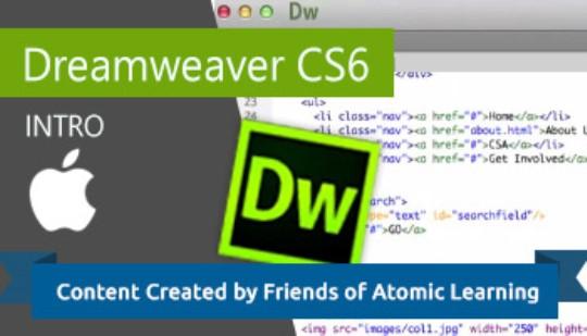 Dreamweaver CS6 - Intro Training