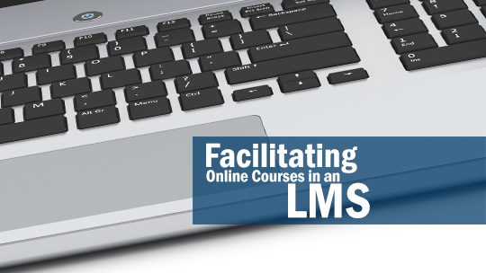 Facilitating Online Courses in an LMS