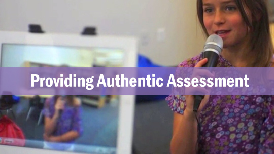 Educators - Providing Authentic Assessment