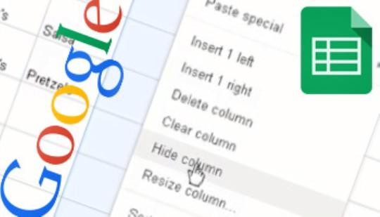 Google Sheets - Editing & Formatting Training