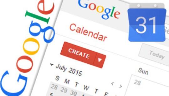 Google Calendar Training