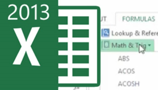 Excel 2013 - Frequently Used Formulas & Functions Training