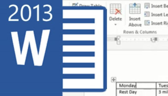 Word 2013 - Tables & Graphics Training