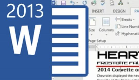 Word 2013 - Newsletter Training