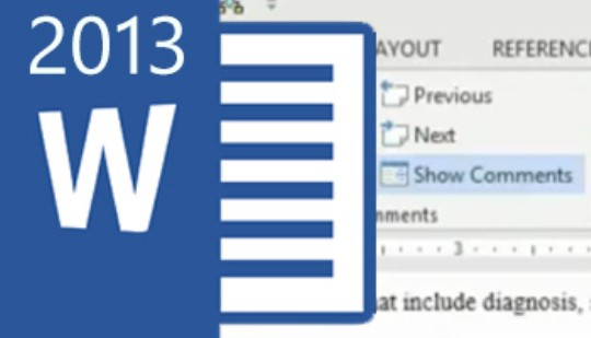Word 2013 - Tracking Changes & Comments Training
