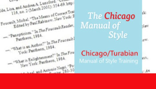 chicago manual of style bibliography sample