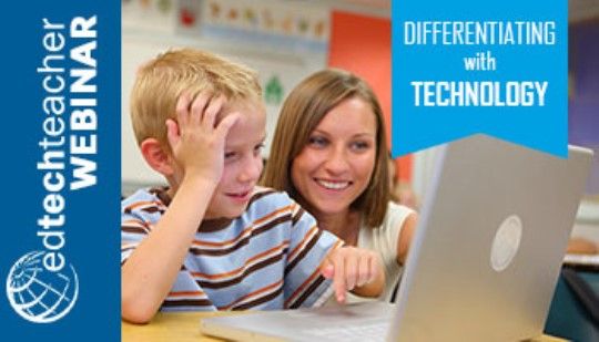 Webinar: Differentiating with Technology Training