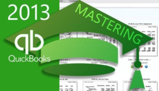 Mastering QuickBooks 2013