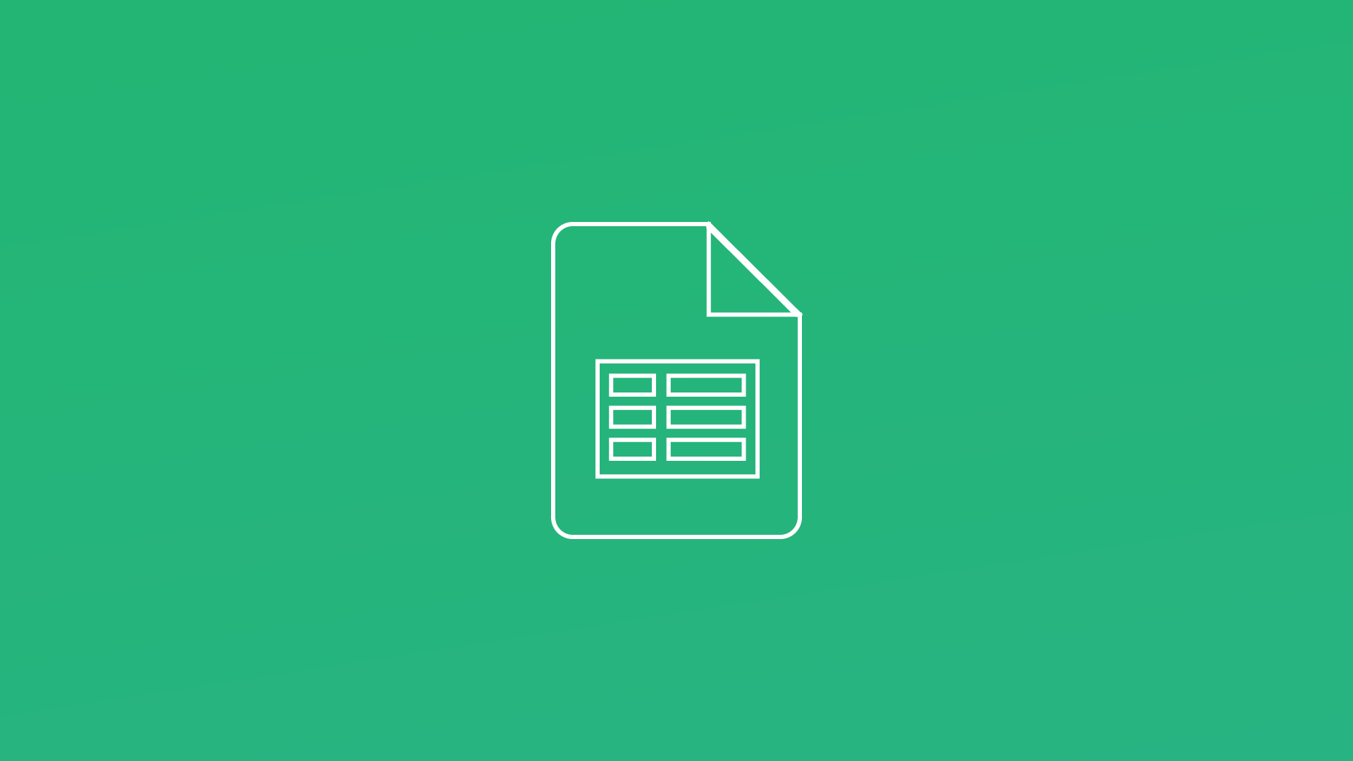 Google Sheets - Create, Edit, Share and Publish