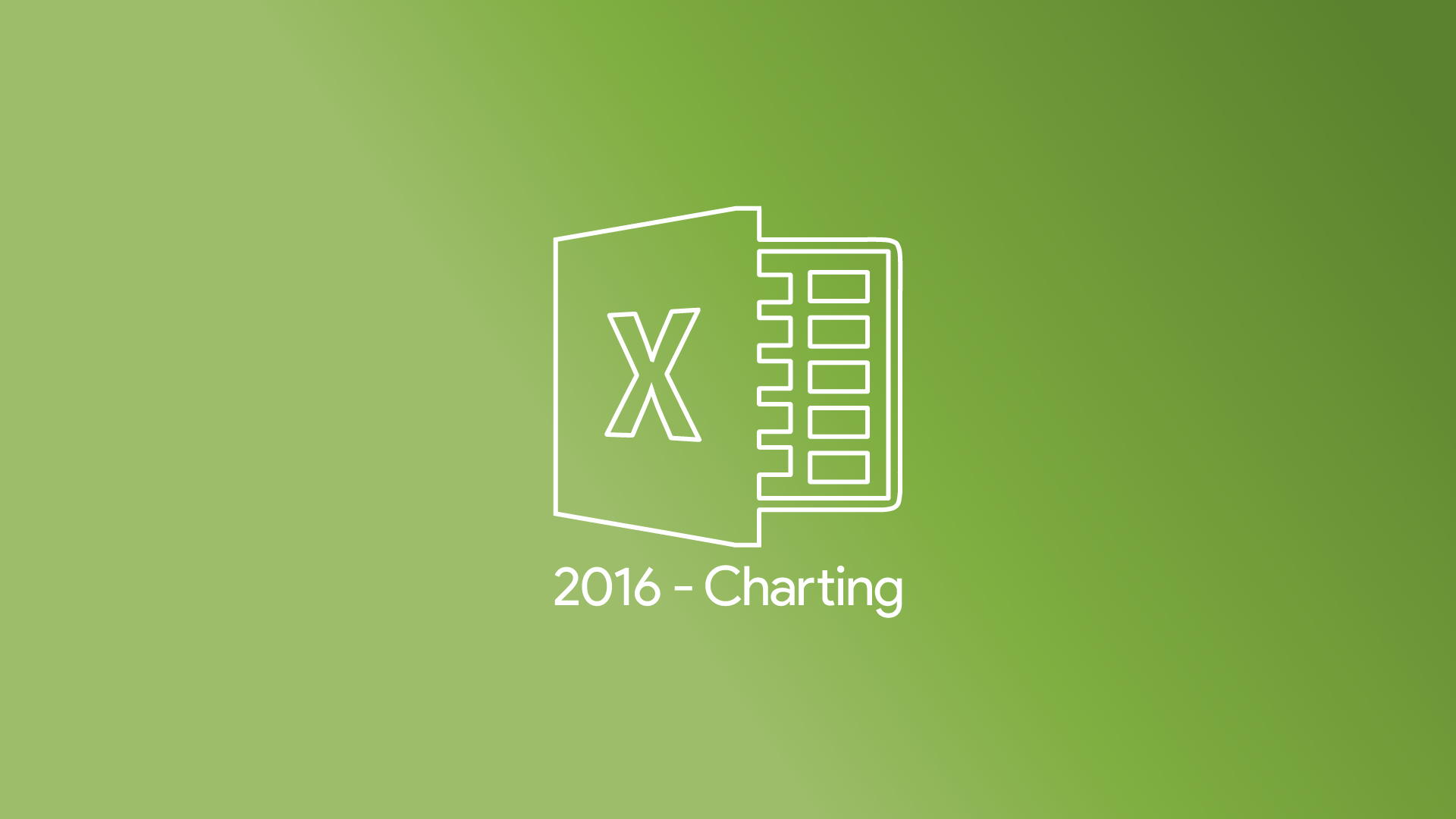 Excel 2016 - Charting