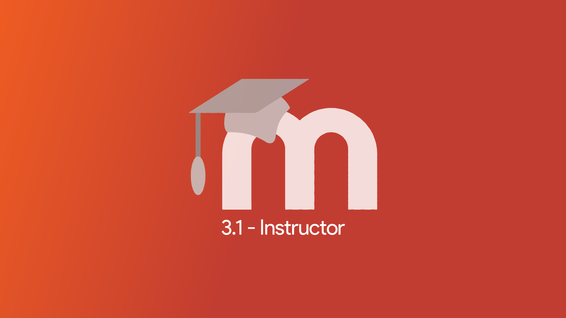 Moodle 3.1 - Instructor