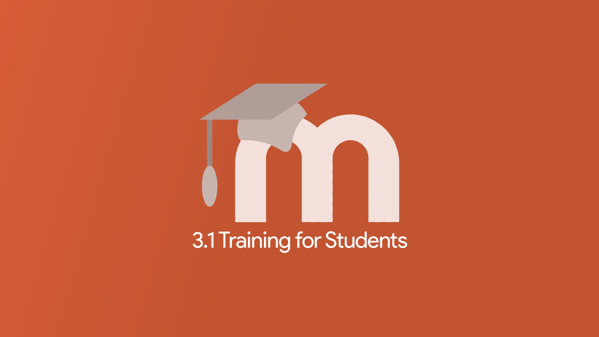 Moodle 3.1 Training for Students