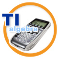 TI algebra logo