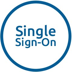 Single sign-on options available